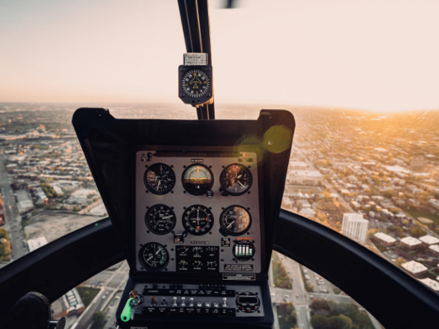 Compass Helicopter Cockpit Aeroversity
